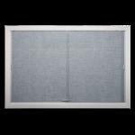 Platinum Visual Systems - Sliding Glass Bulletin/Directory Case (SBS)