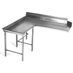 Eagle Group - 16/430 Stainless Steel Island Design Clean Dishtable