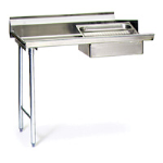 Eagle Group - 16/304 Stainless Steel Straight Design Soiled Dishtables