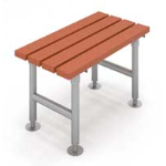 Eagle Group - Floor-Mounted Shower Bench