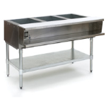 Eagle Group - Gas - Water Bath Steam Tables, Open Base