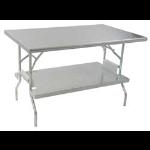 Eagle Group - Undershelf, Stainless Steel - Lok-n-Fold Stainless Steel Tables