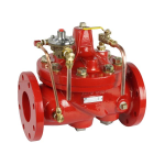 Watts - M100D-A - Deluge Valve - Pneumatic Hydraulic Actuated