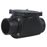 Watts - BV-200 - Cast Iron In-Line Backwater Valve
