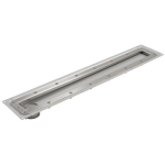 Watts - BWS-200 - WaterLine Shower Channel with Surface Membrane Clamp (For Rubberized Sheet Flooring)