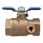 Watts - LF622FT - Full Port Tapped Ball Valves