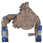 "Watts - 825YA - Small Footprint ""N-Shape"" Design Reduced Pressure Zone Assemblies"
