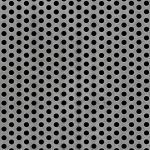 McNichols Co. - Perforated Metal, Round, Carbon Steel (CS) - 1631511641