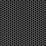 McNichols Co. - Perforated Metal, Round, Stainless Steel (SS) - 1814512041