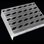 McNichols Co. - Stair Treads, Plank Grating, Extruded Stair Tread Plank - Diamondback®, Aluminum (AL) - T709150212