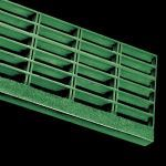 McNichols Co. - Stair Treads, Fiberglass Grating, Molded, MS-R-ST-150, Fiberglass (FG) - F26812TC21