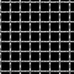 McNichols Co. - Wire Mesh, Square Weave, Woven, Stainless Steel (SS) - 3887220041