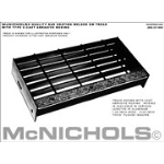 "McNichols Company - Cast Abrasive Nosing, Aluminum, 1.25"" x 29.5"" - 6000144429"