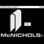 "McNichols Company - U Edging, Aluminum, .063 Gauge, 1/4"" Opening, 1.0000"" x 120.0000"" - 4071440110"