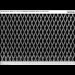 "McNichols Company - Expanded Metal, 1/2 #13 Standard, Plain Steel, 48.0000"" x 96.0000"" - 4600121348"