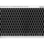 "McNichols Company - Expanded Metal, 1/2 #18 Standard, Plain Steel, 48.0000"" x 96.0000"" - 4600121848"