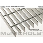 "McNichols Company - Bar Grating, Galvanized, Welded, GW Series, GW 150 Serrated, 36.0000"" x 288.0000"" - 6402310234"