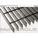 "McNichols Company - Bar Grating, Plain Steel, Welded, GW Series, GW 150, 24.0000"" x 240.0000"" - 6202310122"