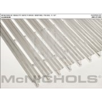 "McNichols Company - SAFE-T-GRID_R Bar Grating, Aluminum, Swage-Locked, TB-940, 1-1/4"" Bearing Bars, 36.562"" x 288"" - 670"