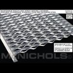 "McNichols Company - GRIP STRUT® Plank Grating, Plain Steel, 2"" Channel, 18.7500"" x 144.0000 - 2608201212"