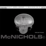 McNichols Company - Dished Disk End Cap Plain Steel - WMDOC166D