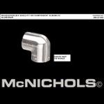 McNichols Company - Slip-On Fittings, #3 Ell Aluminum - WH06020