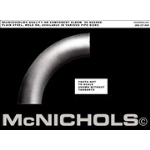 McNichols Company - Handrail Components, Elbow Plain Steel - WME435