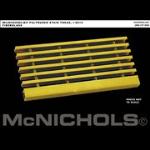 McNichols Company - McNICHOLS I-6015 Duradek® Pultruded Stair Tread Fiberglass - F1Y6015T12