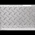 """McNichols Company - Designer Textured Metal, Aluminum, TreadTex®48.0000"""" x 96.0000"""" - R700000048"""