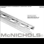 "McNichols Company - DIAMONDBACK® Ladder Rung, Aluminum, .109 Gauge, Vented Ladder Rung, 1.7500"" x 144.0000"" - T7LR517112"