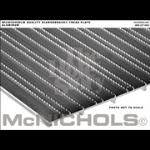 "McNichols Company - DIAMONDBACK® Tread Plate, Aluminum, 0.110 Gauge, Solid Surface, 12"" x 144"" - T712000112"