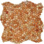 Coverall Stone - Melon Micro Pebble Tile