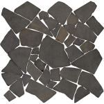 Coverall Stone - Black Large Mosaic Tile