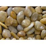 Coverall Stone - Yellow Polished Pebbles