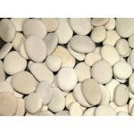 Coverall Stone - Ivory Seaside Beach Pebbles