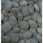 Coverall Stone - Black Fire Lava Pebbles
