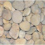 Coverall Stone - Bone Mexican Beach Pebbles