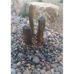 Coverall Stone - Red Mexican Beach Pebbles