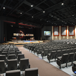 Sauder Worship Seating - Clarity and Vista Back Style Auditorium Seating