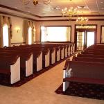 Sauder Worship Seating - Fixed Chapel Seating