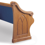 Sauder Worship Seating - Pew Ends