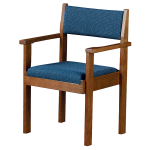 Sauder Worship Seating - OakLok and Paragon Upholstered Worship Chair