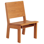 Sauder Worship Seating - All Wood Unity Worship Chair
