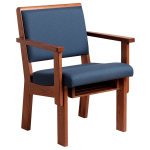 Sauder Worship Seating - Unity Upholstered Worship Chair