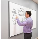 Magnatag Visible Systems - MagnaLux® Framed Whiteboards and Bulletin Boards
