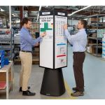 Magnatag Visible Systems - RotoCube® Rotating Magnetic Bulletin Towers