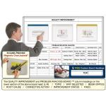 Magnatag Visible Systems - Quality Improvement and Problem Isolation Analysis™ Magnetic Dry-Erase Whiteboard Systems