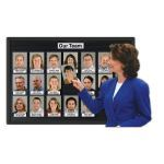 Magnatag Visible Systems - PhotosUP® Gallery-Boards Instantly Changeable Photo Exhibit
