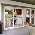 Milgard Windows & Doors - Bi-Fold Glass Walls in Aluminum