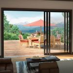Milgard Windows & Doors - Stacking Glass Walls in Aluminum
